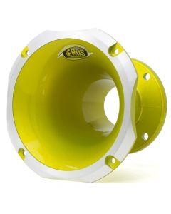 """Eros EC-4160 2"""" Aluminium Yellow Trio Horn"""