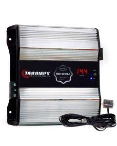 Taramps MD 3000.1 Premier 1 Channel 3000 Watts RMS  2 Ohms Car Amplifier