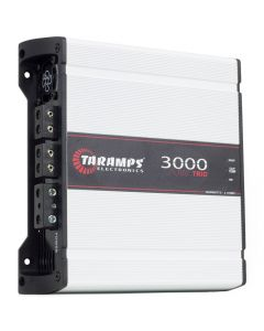 Taramps 3000 Trio - 1 Channel, 2 ways - 3000 Watts RMS - 2 Ohm Car Amplifier