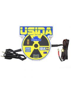 Spark Usina Nauticline 12A, 12V Bivolt With Battery Meter Smart Charge Power Supply