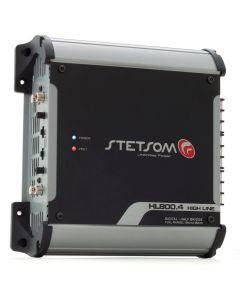Stetsom HL800.4 - 4Channel- 1040 Watts RMS - 1 Ohm Car Amplifier