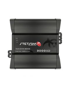 Stetsom Vulcan 3000W RMS 2 Ohms RCA 1 Channel Car Amplifier