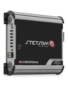 Stetsom EX5000EQ 1 Channel 1 Ohm Car Amplifier